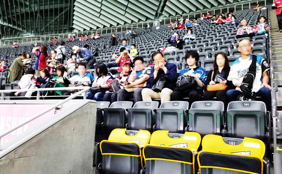 野球観戦(ファニー函館)